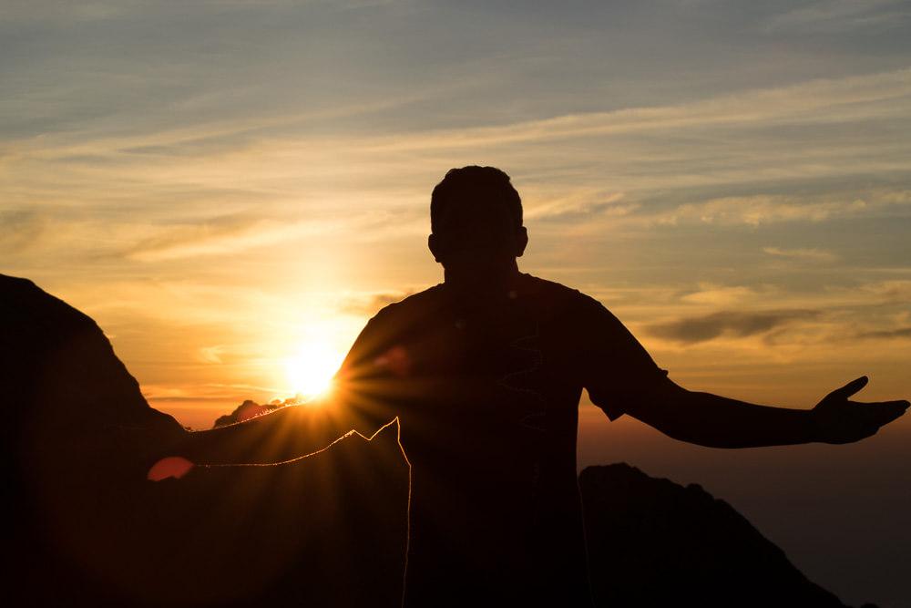 Sunrise from Puncak Agung