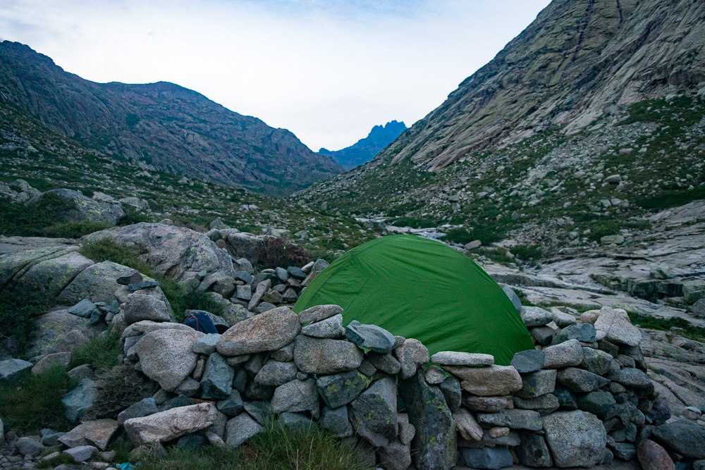 One of the finest camping spots, there is a small water stream nearby and I would gladly spend several nights here