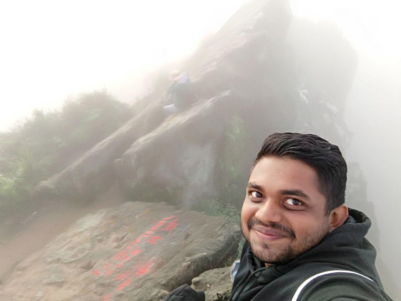 On top Gunung Sibayak