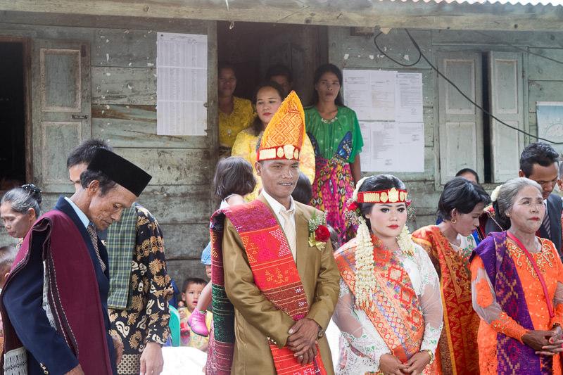 Wedding in Samosir