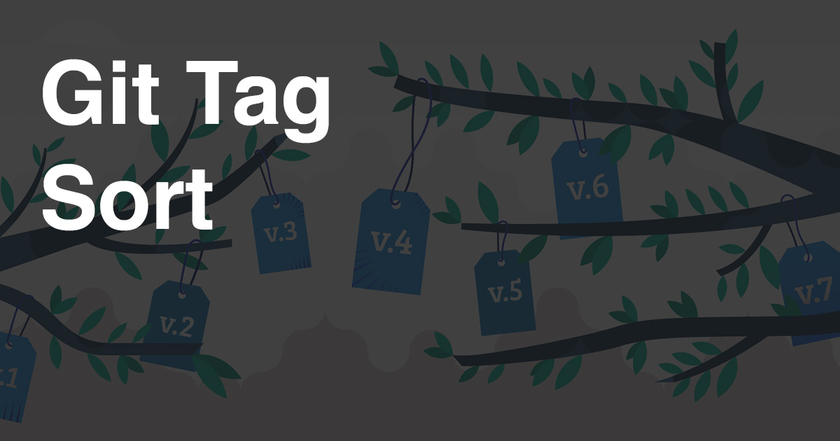 Git Tag: Sort tags by semantic version / natural order